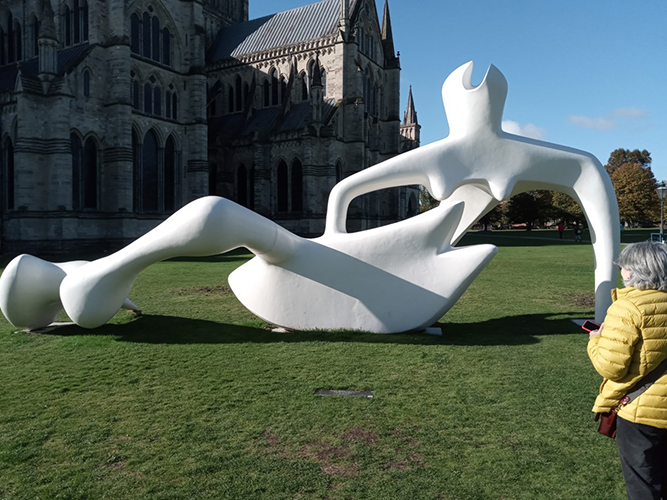 Art Appreciation - Henry Moore Salisbury Exhibition